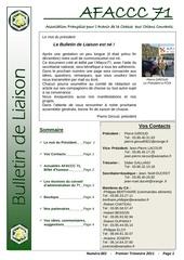 bulletin de liaison 1
