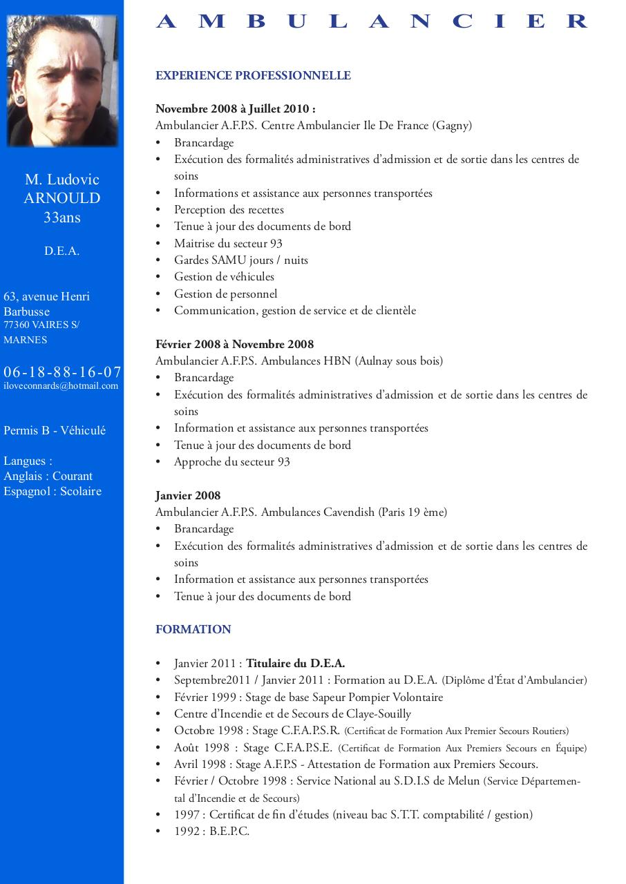 cv ludovicarnould  cv ludovicarnould pdf