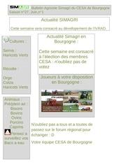 Fichier PDF bulletin agricole simagri du cesa de bourgogne