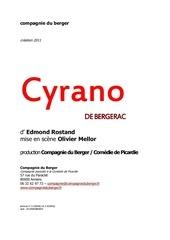 Fichier PDF dossier cyrano