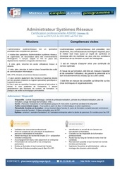 administrateur systemes