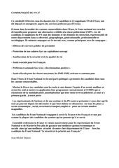 communiquE fn 27