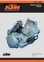 ktm 125 200 engine ing