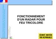 Fichier PDF radar feux rouge