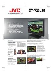 jvc monitor infodecor dt v20l3g en