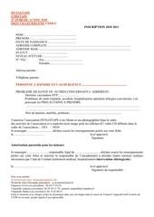 fiche inscription dynastaps 3