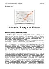 monnaie banque et finance cours n 5
