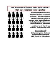 Fichier PDF suppression de postes 2011