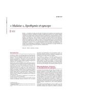 malaise lipothymie et syncope