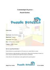 communique de presse puzzle kitchen android