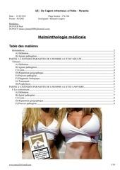 helminthologie