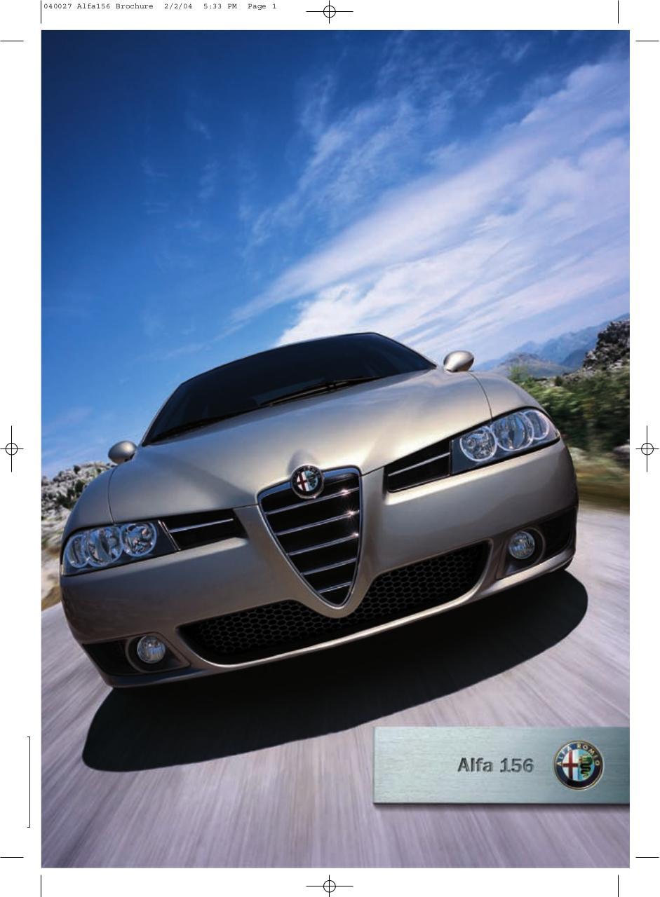 Alfa 156 brochure phase3 par Angela - Fichier PDF