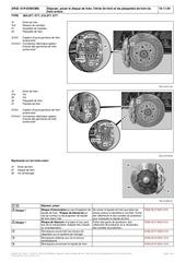 Fichier PDF deposer poser le disque de frein l etrier de frein et les plaquettes de frein du frein arriere
