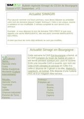 bulletin agricole simagri du cesa de bourgogne 2