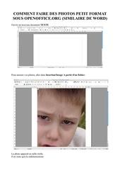 Fichier PDF tuto petites photos