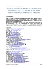 Fichier PDF annuaire trainz