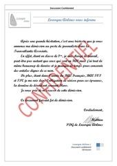 Fichier PDF demission