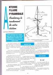 antenne filaire pyramidale