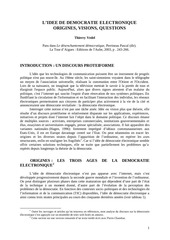 Fichier PDF l idee de democratie electronique