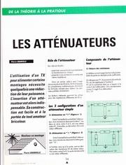 Fichier PDF les attenuateurs