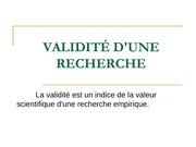 validit dune recherche2