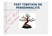 test tibetain de personalit 2