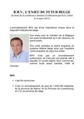 eric libert bhv l enjeu du futur belge 2010 iv 02 1