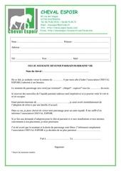 contrat de parrainage modifie le 13 04 10