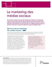 le marketing des medias sociaux