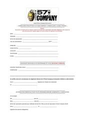 Fichier PDF formulaire d