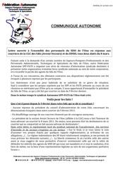 lettre ouverte autonome au personnel suite aux attaques ddsis 60 et cgc 60 le 14 03 2011 1