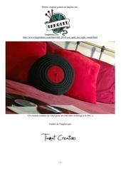 Fichier PDF coussin disque vinyl