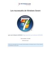 les nouveautes de windows 7