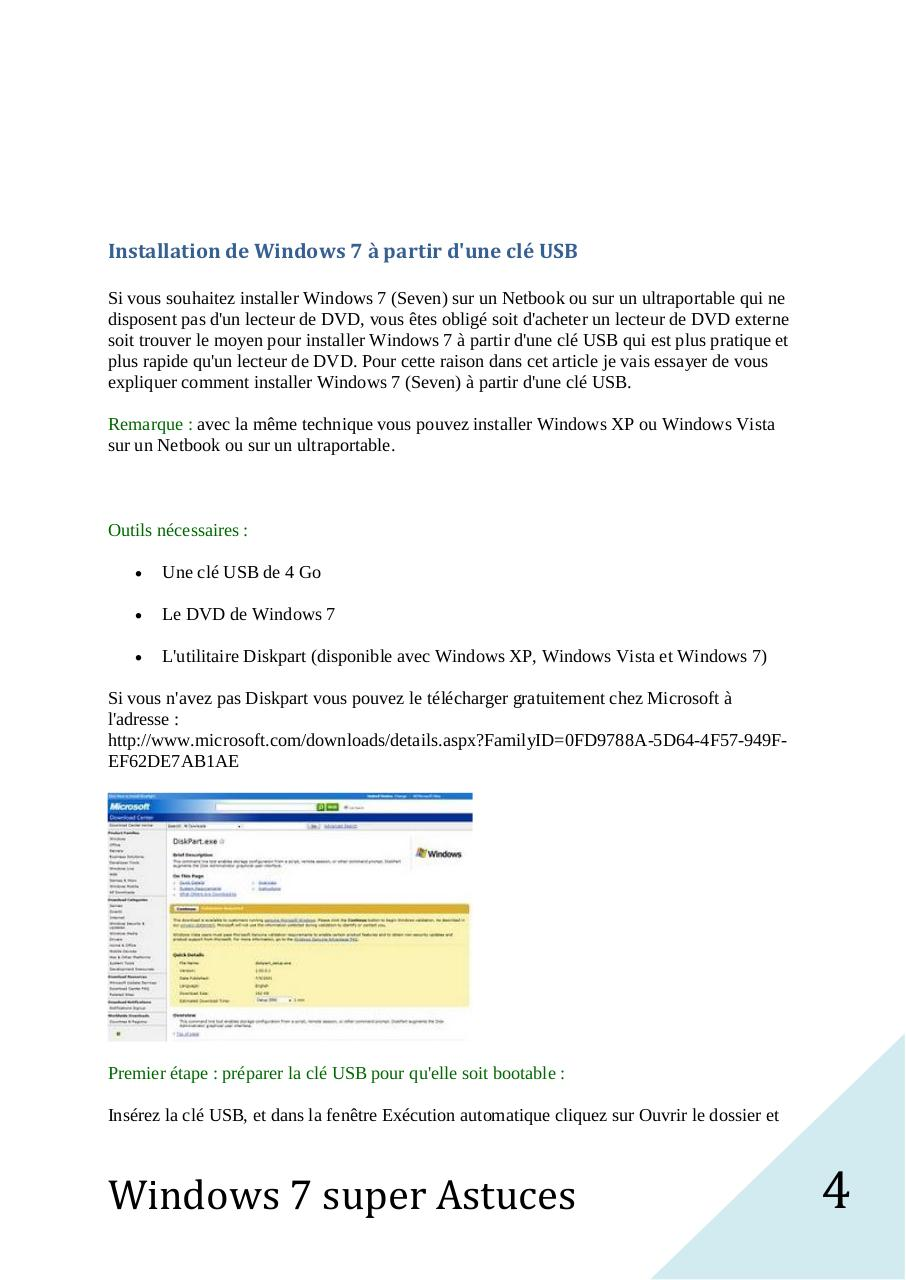 Windows 7 Super Astuces.pdf - page 4/200