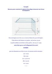 exemple de tunnel rectangulaire