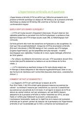 Fichier PDF hypertension arterielle