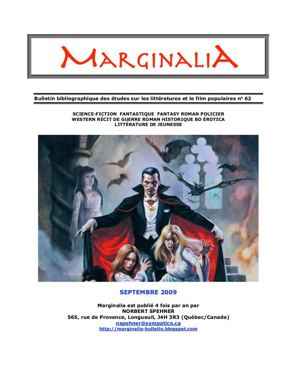 Marginalia62doc Par Norbert Spehner Marginalia62 Pdf Fichier Pdf