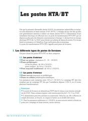 Fichier PDF postes hta bt