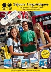 brochure sejours linguistiques sts 2011