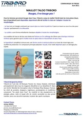 Fichier PDF communique de presse maillot taloo tribord