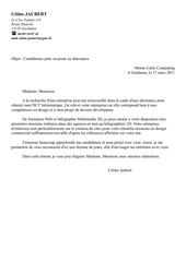 Lettre De Motivation La Rochelle Fichier Pdf