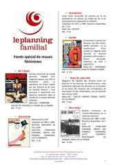 catalogue fonds special de revues feministes pdf