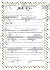 Fichier PDF aide de jeu armes irreelles