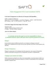 charte engagement
