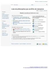 http fr wikipedia org wiki liste de philosophes par annee de naissance
