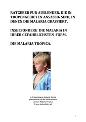 malaria guide ger version