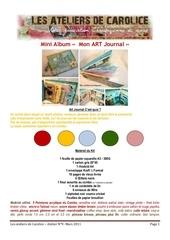 Fichier PDF tuto mon art journal