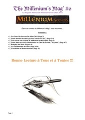 Fichier PDF millenium s mag pdf
