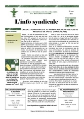 l info syndicale 12