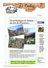 bulletin avril 2011
